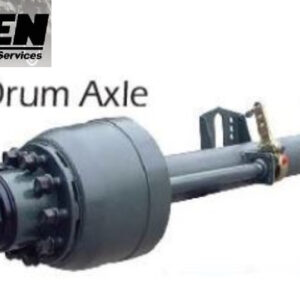 HPSEN SEMI TRAILER AXLE (Lowbed Drum Axle)