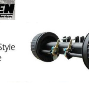 HPSEN SEMI TRAILER AXLE (Germany Style Drum Axle)