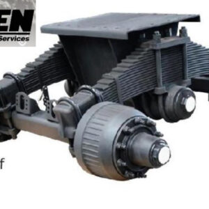 HPSEN SEMI TRAILER AXLE (Single Point Suspension)