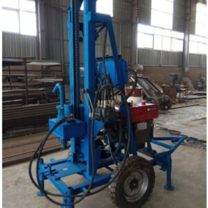 HY-280ss water well drilling machine with wheels